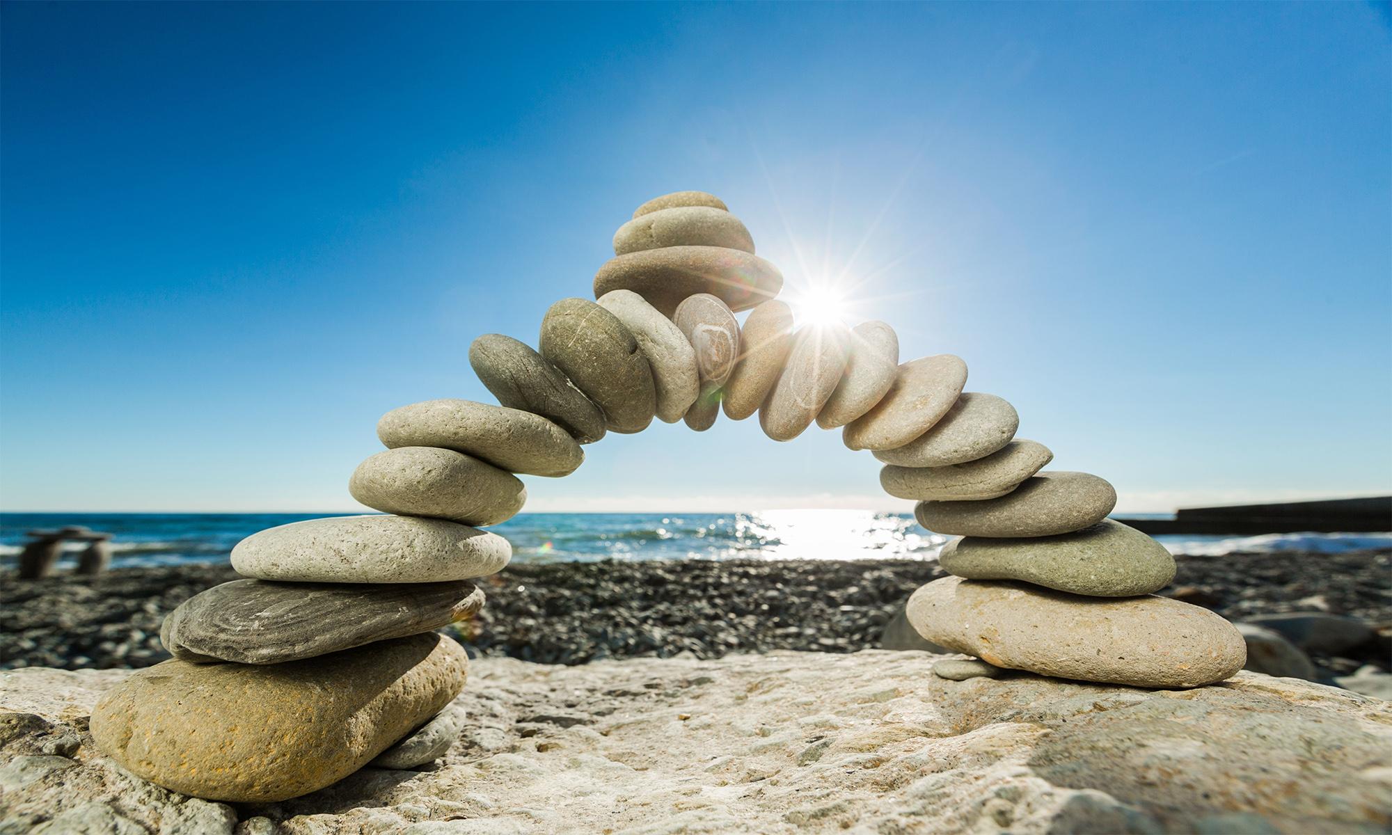 Bridge made of stones